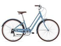 Gorgeous vintage style ladies bike almost new - Giant Liv Flourish - hardly used women's bicycle