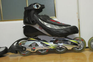 Patin roller blades professionnel comme neuf prix $500.00