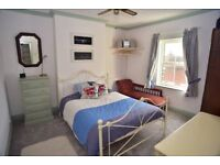 Double room + private living room + private bathroom