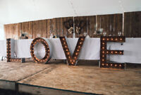 Rustic Wedding Decor Rental