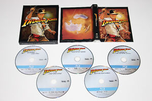 BLU RAY-INDIANA JONES-COMPLETE COLLECTION-FILM/MOVIE