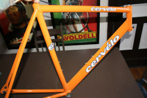 Early CERVELO XL 58cm Frame CADRE Orange frameset Road ROUTE