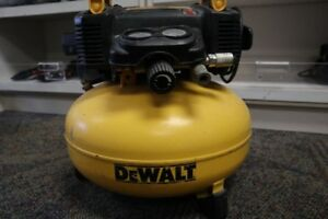 DEWALT 6 Gal. 165 PSI Electric Pancake Air Compressor (#1294-1)