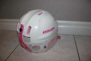 Bauer Lil Sport girls helmet Kitchener / Waterloo Kitchener Area image 2