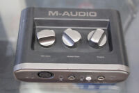 M-Audio Fast Track USB 2 Computer Audio Interface Winnipeg Manitoba Preview