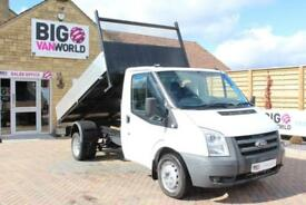 2009 FORD TRANSIT 350 TDCI 100 MWB SINGLE CAB ALLOY TIPPER DRW RWD TIPPER DIESEL