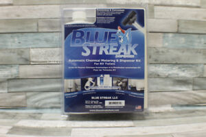 BLUE STREAK AUTOMATIC DISPENSER KIT FOR RV TOILETS