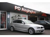2009 BMW 1 SERIES 118d M Sport + FRONT REAR SENSORS + FOLDING DOOR MIRRORS
