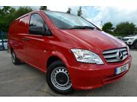 2013 Mercedes benz Vito 113CDI Van LWB LONG 136 BHP 5 door Panel Van