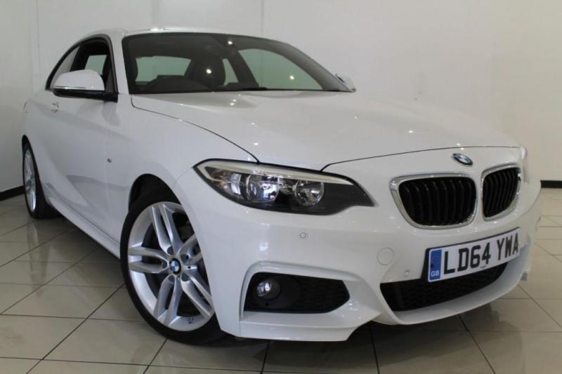2014 64 BMW 2 SERIES 2.0 218D M SPORT 2DR 141 BHP DIESEL
