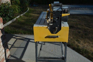 "QEP 24"" tile saw for different tiles - cost a small fortune!"