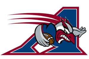 MONTREAL ALOUETTES-55 YARD LINE-SECTION G1 ROW 8-BELOW COST!!!
