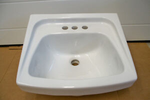 Washroom Sink - white porcelain