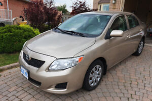 Well maintained 2010 Toyota Corolla CE - DONE SAFETY&UVIP