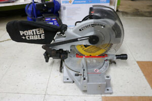 **SAW** Porter Cable 3700L 10in Compound Power Mitre Saw (#1827)