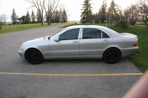 2005 Mercedes-Benz S-Class Chrome Sedan