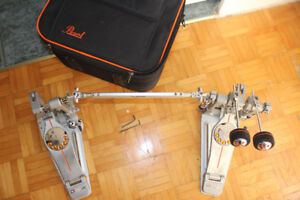 (GREAT VALUE) pearl demon drive double pedal!