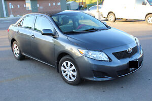 Sell 2009 Toyota Corolla w/ Winter Tires on Rim (119KM) <$8500>!