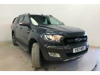 2017 FORD RANGER WILDTRAK TDCI 200 4X4 DOUBLE CAB WITH TRUCKMAN TOP PICK UP DIES