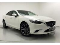 2018 Mazda 6 D SPORT NAV Diesel white Manual