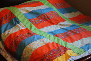 Colorful Queen Quilt