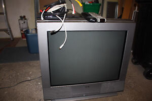 """30"""" sony tv with cable box"""