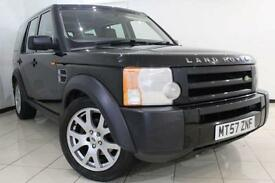 2008 57 LAND ROVER DISCOVERY 2.7 3 TDV6 GS 5DR 188 BHP DIESEL