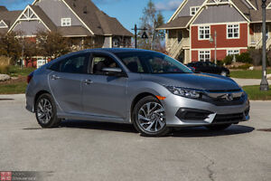 2016 Honda Civic EX T turbo Sedan