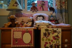 Monkey girl bedding and a ton of other stuff London Ontario image 1