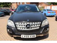 2009 59 MERCEDES-BENZ M CLASS 3.0 ML300 CDI BLUEEFFICIENCY SPORT 5D AUTO 188 BHP