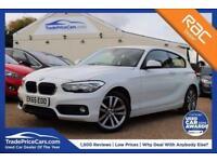 2015 65 BMW 1 SERIES 1.5 116D SPORT 3D AUTO 114 BHP DIESEL