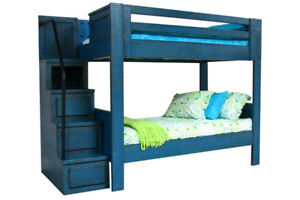 Phoenix twin over twin bunk bed