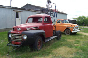 1949 1951 Fords ~Estate Sale Tools ~Trucks ~Trailers~ Equipment