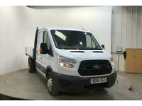 2016 FORD TRANSIT 350 TDCI 125 L3 LWB 7 SEAT DOUBLE CAB 'ONE STOP' ALLOY TIPPER