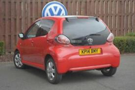 2014 Toyota Aygo 1.0 VVT-i Move With Style 5-Dr Petrol red Manual
