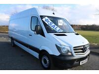 2015 MERCEDES SPRINTER 313 CDI LWB *LOW MILES* ONE OWNER PLY LINED YEARS MOT