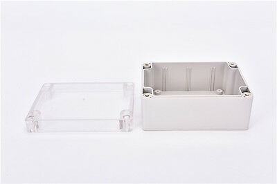 Waterproof 1159055mm Clear Cover Plastic Electronic Project Box Enclosure Best