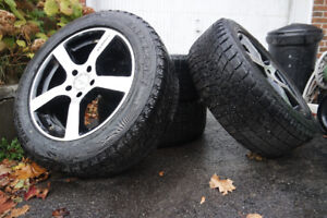 18 inch winter tires on rims 255/55 R18