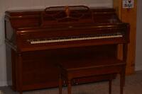 Mason and Risch apartment size studio piano