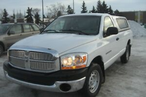 VERY NICE 06 DODGE RAM 1500 R.W.D. TRUCK--LOW KMS