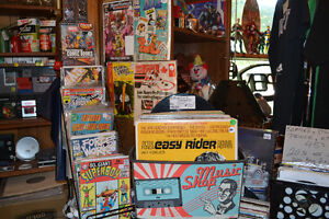 50% off ALL Comics Vintage & Vinyl Records Collectibles LaSalle