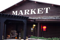 Temp Vendors for Heritage Weekend Party at Symons Valley Ranch
