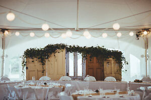 Wedding Backdrop, Table Cloths & Runners, Chair Covers & Sashes