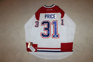Carey Price signed autograph Montreal Canadiens Jersey