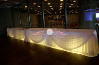 Uplighting/Light Rentals for your Wedding and Party!