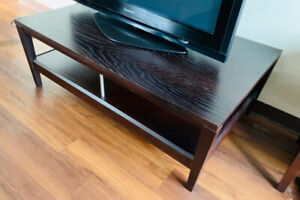 Sturdy Wooden TV Stand