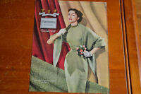 ANONCE FEMME LAINE 1953 FORSTMANN WOOL AD FOR WOMENS CLOTHING