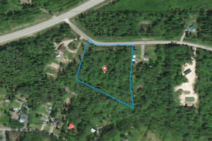 5.21 acre building lot near Prince George, BC