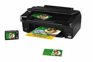 Epson Stylus NX-420 Color Ink Jet all in one printer