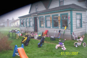 MANY ITEMS FOR KIDS IN SUN.MAY 21 YARD AND PORCH SALE